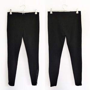 Kut From The Kloth Molly Zip Ankle Black Pants